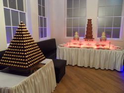 Ferrero Rocher and triple chocolate fountain hire package