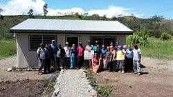 Work and Witness Team in Papua New Guinea