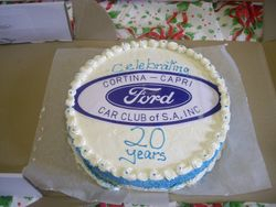The Cortina Club also celebrated 20yrs