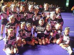 mini cheer champions