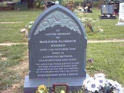Flint grey granite peon top headstone