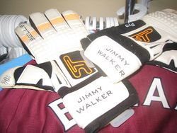 Jimmy Walker goalkeeper gloves