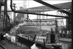 Bilston Steel Works. c1950s.