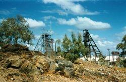 059 South Mine Heads Broken Hill 1957