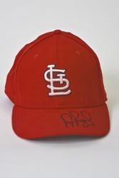 Albert Pujols 2006 Game Used Signed Home Hat