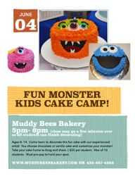 June 4 Cake Class
