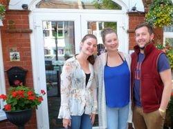 Abby, Laura & Nile