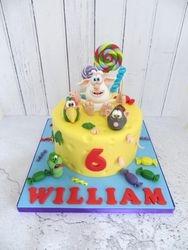 William's 6th birthday cake