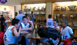 6th Grade Hanging at the Garden State Tournament