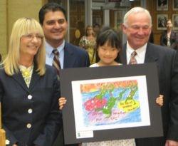 Katy Huang, Age 7