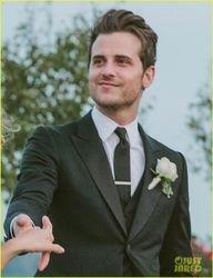 Jared on his Wedding Day to Martha (29 Sep 12)