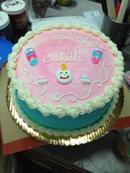 Gender Surprise Cake