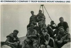 C Company 7 Troop Mount Kinabalu 1965