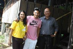Drew Arellano at Naga City Goat Farm