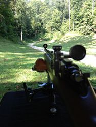 Sighting Down the 100 Yard Range