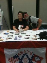 Randy & Elizabeth @ ABATE 20 Table