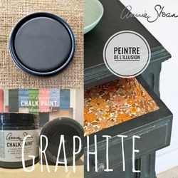 Graphite Chalk Paint Annie Sloan