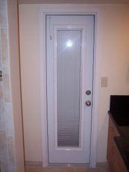 New exterior door.