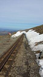 Last of the snow on Snowdon