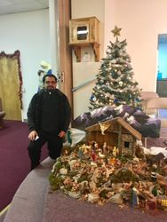 Father Martin and the Manger