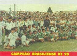 Campeao Brasiliense de 1990