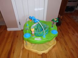 Evenflo Exersaucer Bounce & Learn, Zoo Friends - $30