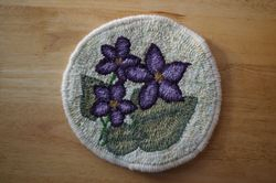 "9"" Purple Violet Trivet Kit"