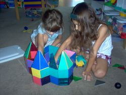 Magnatiles are a favorite toy