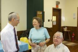 Rabbi Seth, Leslie and Cy