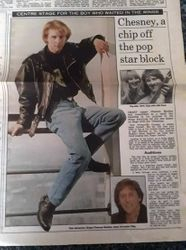 Daily Mail dated 2nd April 1991