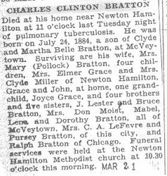 Bratton, Charles C. 1931