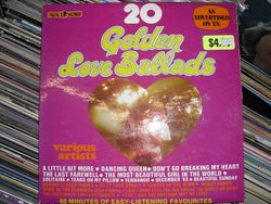 20 Golden Love Ballards as advertised on TV