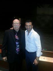 Denny with Tony Dovolani