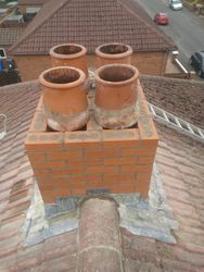 Chimney Before Coping stone