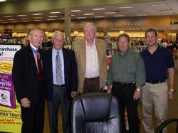 Livingston, Johnson, davis and pilots