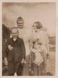 Fannie Stevens, Frank Kauffman, Amy Norris, Blanche (Shingler) Shirk