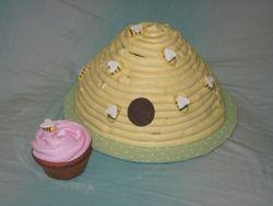 Beehive Cake