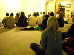 Talk during Tarawih Prayer