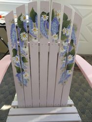 Lilac Chair Back