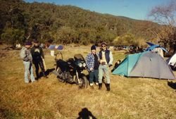 1996 Which one's the bike? Trish, russ Daniel
