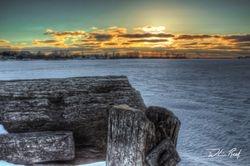 Heritage Landing Sunset
