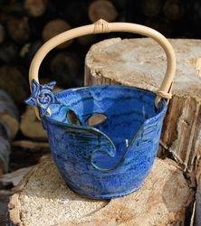 Cane Handle Bucket