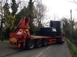 New tank arrives