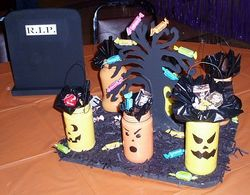 Halloween Jar People