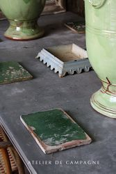 #29/158 GREEN FRENCH TILE