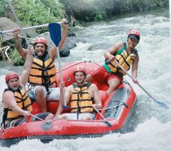 White water rafting with Made