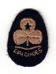 1932 - 1968 Guide Hat Badge