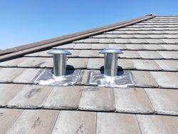 Flumeset for tiled roof