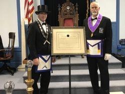 Presentation of Restored Charter