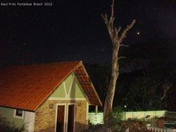Venus next to the dead tree